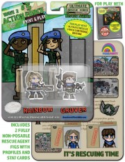 URF! Wave 2: Action Force 5: Rainbow and Grover